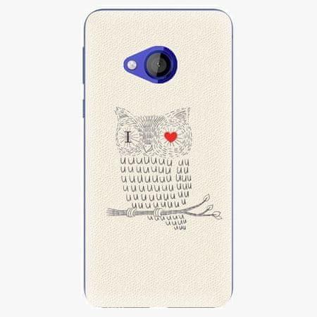 iSaprio Plastový kryt - I Love You 01 - HTC U Play