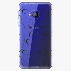 iSaprio Plastový kryt - Fancy - black - HTC U Play