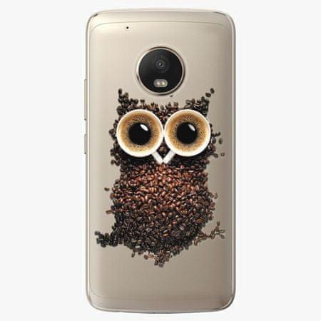 iSaprio Plastový kryt - Owl And Coffee - Lenovo Moto G5 Plus