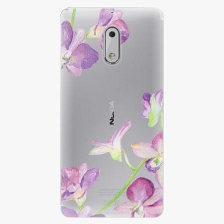 iSaprio Plastový kryt - Purple Orchid - Nokia 6