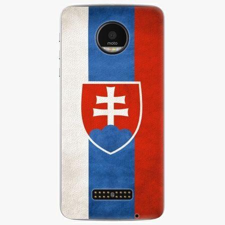 iSaprio Plastový kryt - Slovakia Flag - Lenovo Moto Z