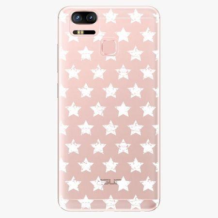iSaprio Plastový kryt - Stars Pattern - white - Asus ZenFone 3 Zoom ZE553KL