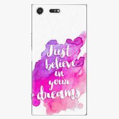 iSaprio Plastový kryt - Believe - Sony Xperia XZ Premium