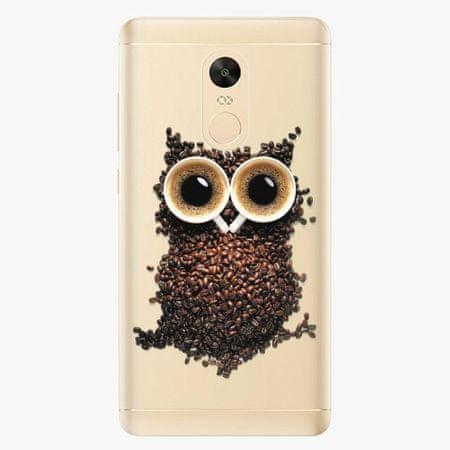 iSaprio Plastový kryt - Owl And Coffee - Xiaomi Redmi Note 4X