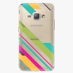 iSaprio Plastový kryt - Color Stripes 03 - Samsung Galaxy J1 2016