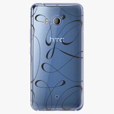 iSaprio Plastový kryt - Fancy - black - HTC U11
