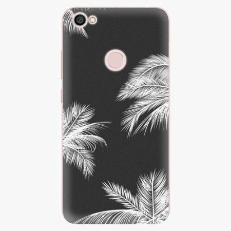 iSaprio Silikonové pouzdro - White Palm - Xiaomi Redmi Note 5A / 5A Prime