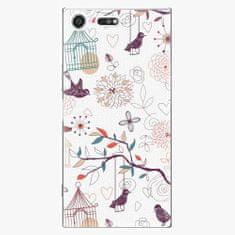 iSaprio Plastový kryt - Birds - Sony Xperia XZ Premium
