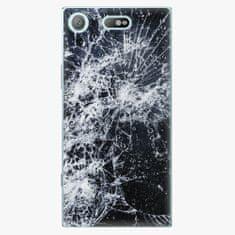 iSaprio Plastový kryt - Cracked - Sony Xperia XZ1 Compact