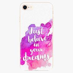 iSaprio Plastový kryt - Believe - iPhone 8