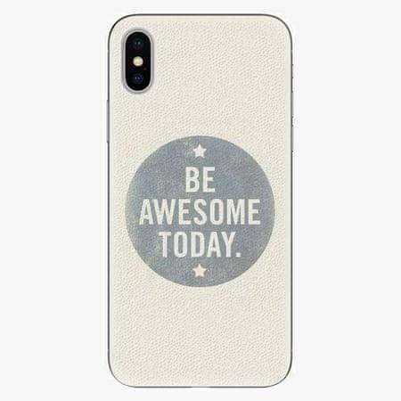 iSaprio Silikonové pouzdro - Awesome 02 - iPhone X