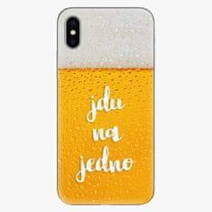 iSaprio Plastový kryt - Jdu na jedno - iPhone X