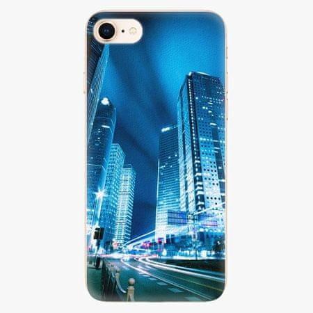 iSaprio Plastový kryt - Night City Blue - iPhone 8