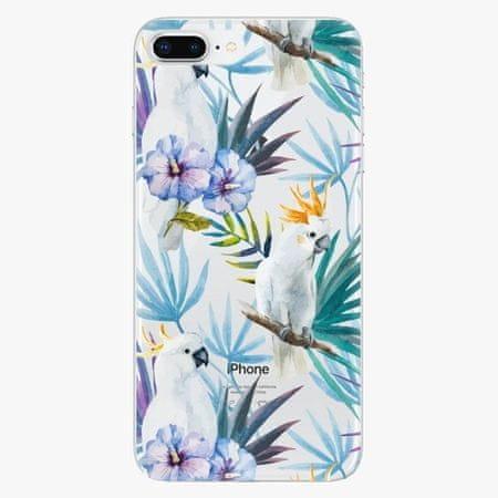iSaprio Plastový kryt - Parrot Pattern 01 - iPhone 8 Plus