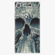 iSaprio Plastový kryt - Abstract Skull - Sony Xperia XZ1