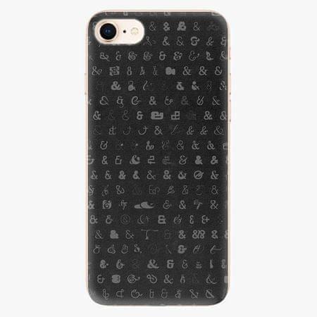 iSaprio Silikonové pouzdro - Ampersand 01 - iPhone 8