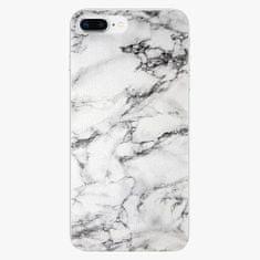 iSaprio Plastový kryt - White Marble 01 - iPhone 8 Plus