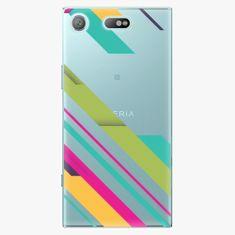 iSaprio Plastový kryt - Color Stripes 03 - Sony Xperia XZ1 Compact