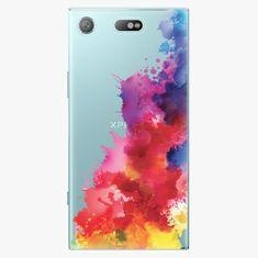 iSaprio Plastový kryt - Color Splash 01 - Sony Xperia XZ1 Compact