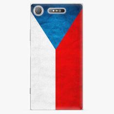 iSaprio Plastový kryt - Czech Flag - Sony Xperia XZ1