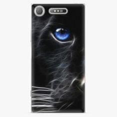 iSaprio Plastový kryt - Black Puma - Sony Xperia XZ1