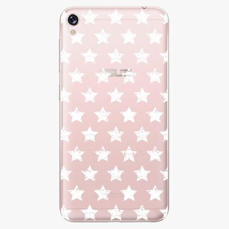 iSaprio Plastový kryt - Stars Pattern - white - Asus ZenFone Live ZB501KL