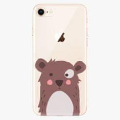iSaprio Plastový kryt - Brown Bear - iPhone 8