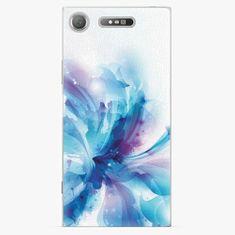 iSaprio Plastový kryt - Abstract Flower - Sony Xperia XZ1