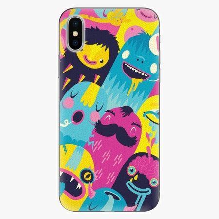 iSaprio Plastový kryt - Monsters - iPhone X