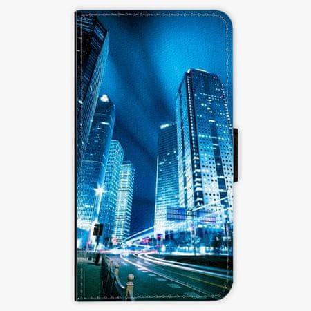 iSaprio Flipové pouzdro - Night City Blue - Samsung Galaxy A3