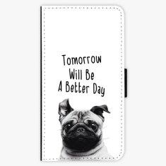 iSaprio Flipové pouzdro - Better Day 01 - iPhone X