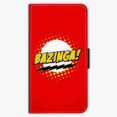 iSaprio Flipové pouzdro - Bazinga 01 - iPhone X