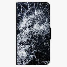 iSaprio Flipové pouzdro - Cracked - Huawei P10 Plus
