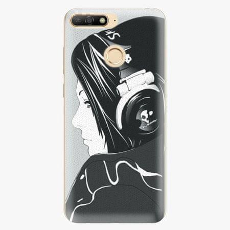 iSaprio Silikonové pouzdro - Headphones - Huawei Y6 Prime 2018