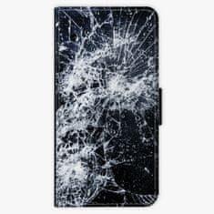 iSaprio Flipové pouzdro - Cracked - iPhone 8 Plus