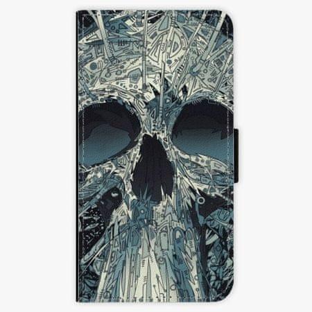 iSaprio Flipové pouzdro - Abstract Skull - Nokia 3