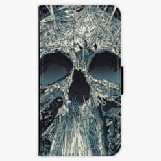 iSaprio Flipové pouzdro - Abstract Skull - Samsung Galaxy A3