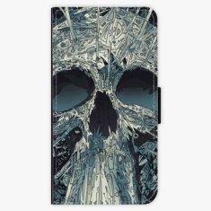 iSaprio Flipové pouzdro - Abstract Skull - Huawei P10 Plus
