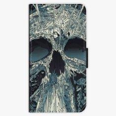 iSaprio Flipové pouzdro - Abstract Skull - Huawei Ascend P9 Lite