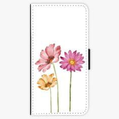 iSaprio Flipové pouzdro - Three Flowers - iPhone 8 Plus