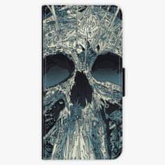 iSaprio Flipové pouzdro - Abstract Skull - Nokia 6