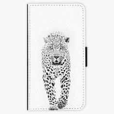iSaprio Flipové pouzdro - White Jaguar - Samsung Galaxy A3