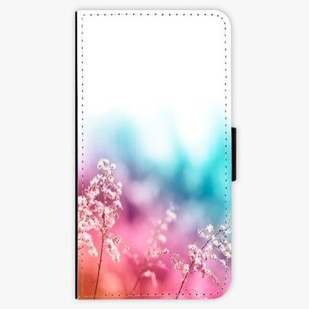 iSaprio Flipové pouzdro - Rainbow Grass - iPhone X