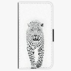 iSaprio Flipové pouzdro - White Jaguar - iPhone 8 Plus