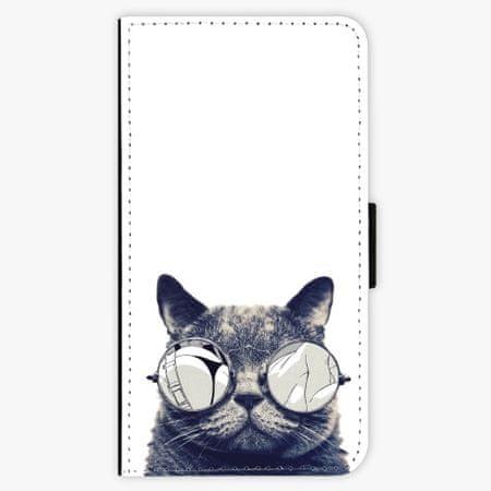 iSaprio Flipové pouzdro - Crazy Cat 01 - Samsung Galaxy A3