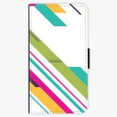iSaprio Flipové pouzdro - Color Stripes 03 - Huawei Nova