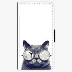 iSaprio Flipové pouzdro - Crazy Cat 01 - Huawei Nova