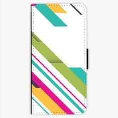 iSaprio Flipové pouzdro - Color Stripes 03 - LG G6 (H870)