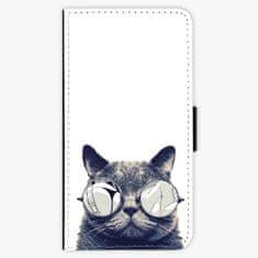 iSaprio Flipové pouzdro - Crazy Cat 01 - Huawei P10 Plus