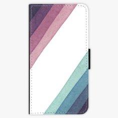 iSaprio Flipové pouzdro - Glitter Stripes 01 - Huawei Nova